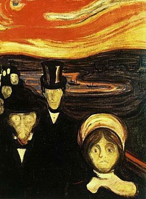 Edvard Munch - Anxiety (1894)