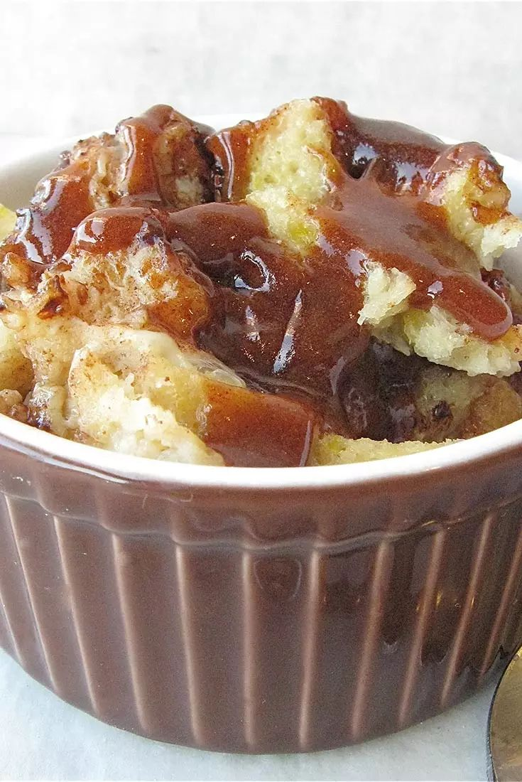 Microwave Bread Pudding Recipe