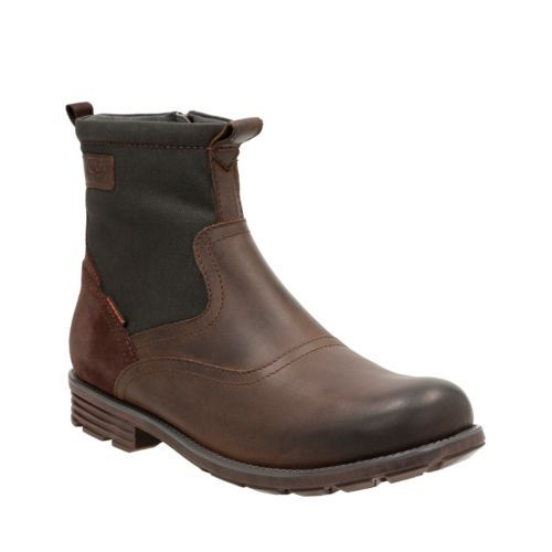 Guard Top Brown leather mens-waterproof-boots