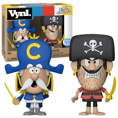 Funko Vynl. Two Pack - Cap'n Crunch And Jean LaFoote - Funko Shop Limited Edition Exclusive - New, Mint Condition.  https://www.supportivepc.com/funko-vynl.-two-pack-capn-crunch-and-jean-lafoote  #Funko #FunkoVynl #CapnCrunch #JeanLaFoote #NationalCerealDay2018 #Collectibles
