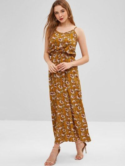 8b91a7625bd7 Sunflower Cut Out Maxi Dress Summer Casual Curvy Printed Elegant Maxidrees  Petite Simple Classy Outfit