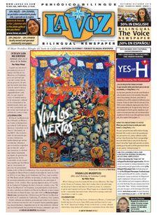 Read the bilingual magazine La Voz online! ¡Lee la revista bilingue La Voz!