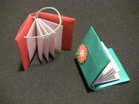 Livre【折り紙】とってもわかりやすい本の折り方 おりがみ How to make an origami book