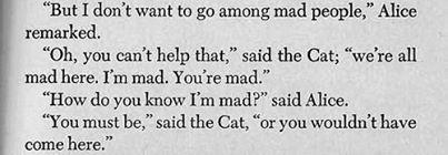 mad people