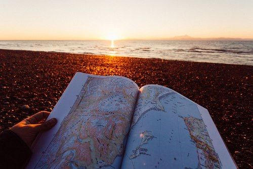 Image via We Heart It https://weheartit.com/entry/175033257 #amazing #befree #beach #beauty #blue #color #Dream #escape #fly #Flying #ForeverYoung #free #girl #hand #life #map #ocean #sea #sky #stones #sun #sunset #travel #travelling #water #waves #wild #world #landescape #traveltheworld