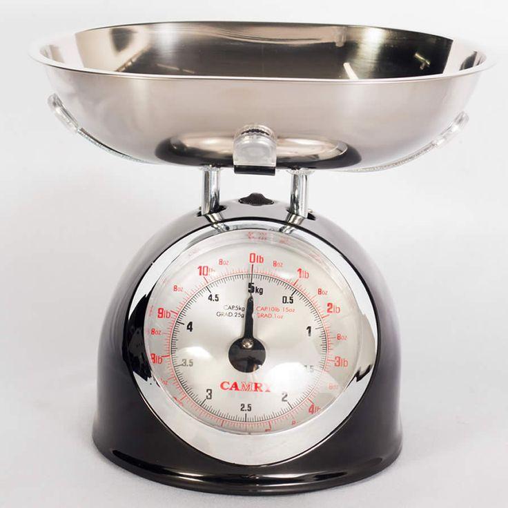 $89.900 Balanza Mecánica de Cocina con Bowl en Acero Inoxidable y Capacidad de 5Kg y 1l.