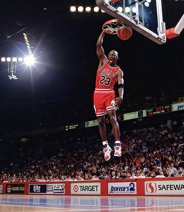 SI's 100 Best Michael Jordan Photos \\ Jordan finishes off ...