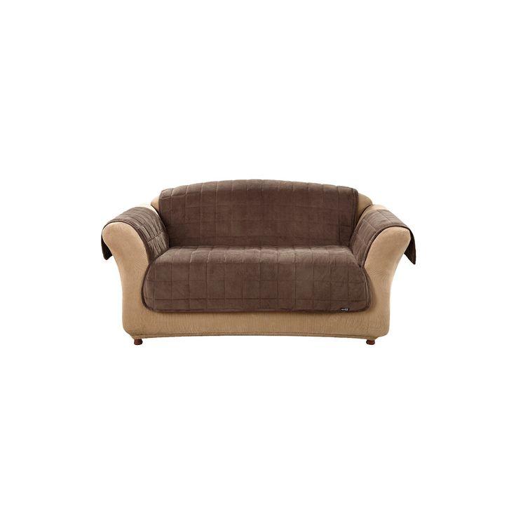 Best 25+ Loveseat covers ideas on Pinterest | Ikea klippan sofa, 2 ... : sure fit quilted cotton furniture friends - Adamdwight.com