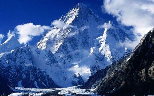 снежные горы, пейзаж, вода, Горы картинки на рабочий стол 39902