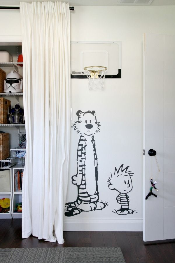 79 best classroom set up images on pinterest school for Calvin and hobbes bedroom mural