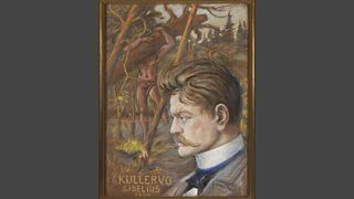 Sigurd Wettenhovi-Aspa, Kullervo, 1892, pastel on paper, 65 cm x 45 cm, Private Collection.
