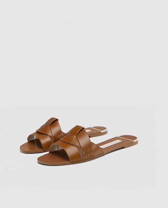 901daa289 Zara slide sandals