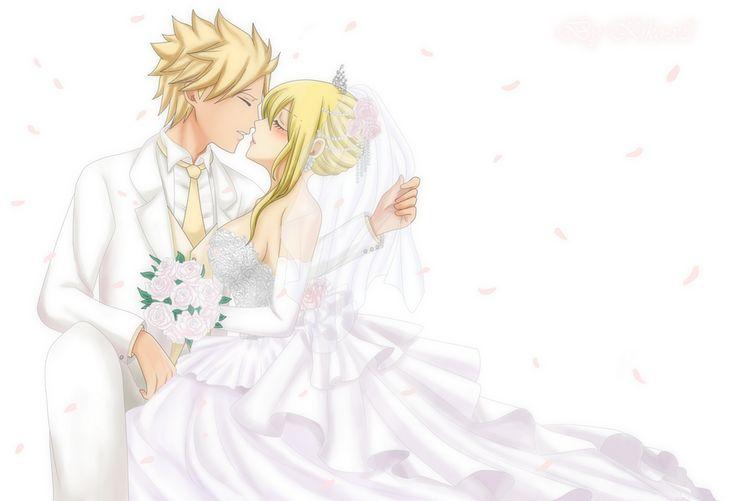 Happy Marriage [Sting x Lucy] by Kiko-x3.deviantart.com on @DeviantArt