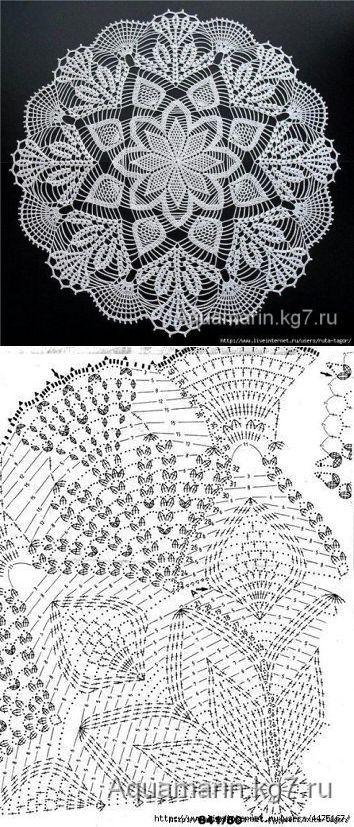 Toalhinha de mesa - com gráfico