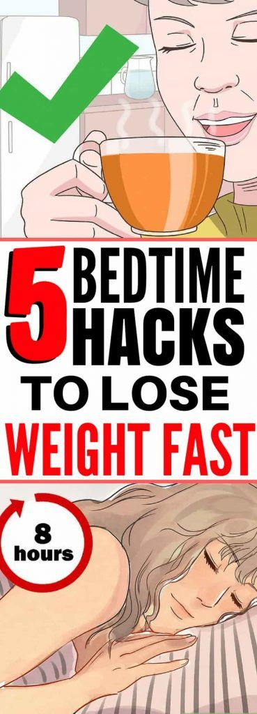 Weight Loss: 5 Bedtime Rituals You Need To Follow …