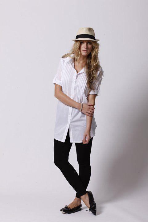 white shirt | Ollie & Max