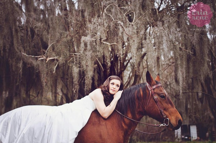Rock the Dress photography with horses #photography #horses #bridal