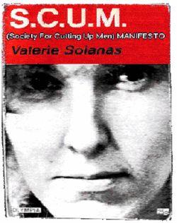 Valerie Solanas SCUM Cover