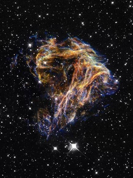 The Large Magellanic Cloud galaxy, taken by the Hubble Telescope