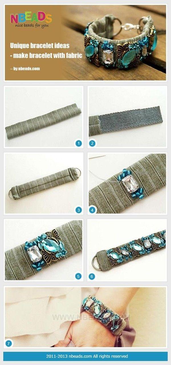 30 Cool Bracelet Tutorials For Girls | http://stylishwife.com/2014/03/cool-bracelet-tutorials-for-girls.html