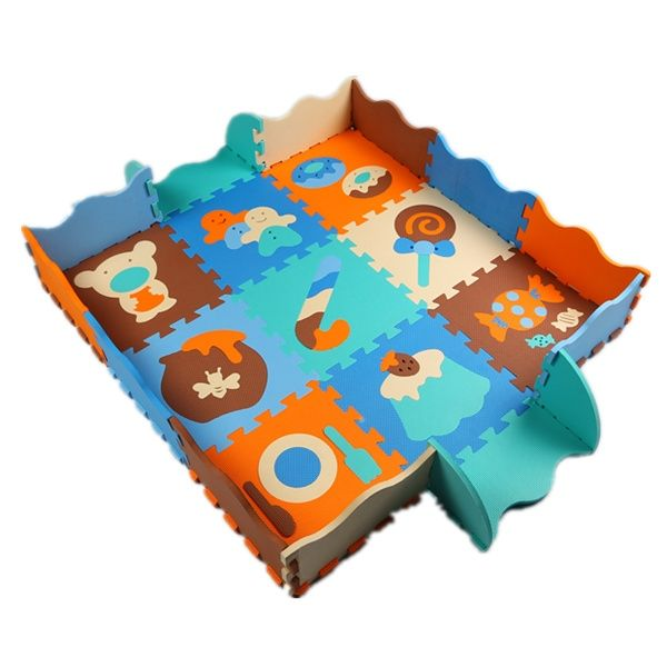 (37.16$)  Watch now  - Hot EVA Puzzle Mat Non-slip EVA Floor Mat Foam Play Mats Floor Puzzle Mats Fences Child Protection Game carpet many patterns