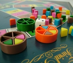 Trivial Pursuit.. Ill always love this game.. Many a happy evening in playing this with friends and wine