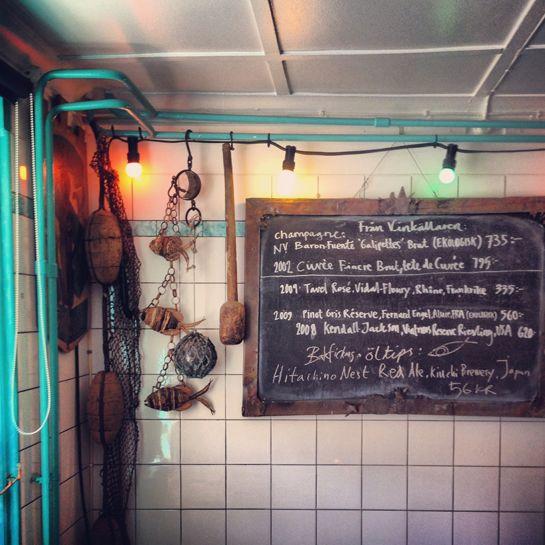 Fish restaurant Bakfickan, on Stora Torget, Visby, Gotland