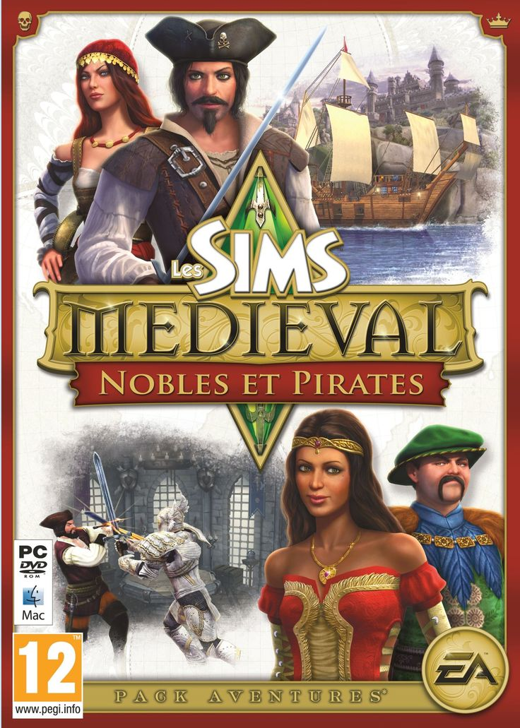 The Sims Medieval Pirates & Nobles Sims medieval, Sims