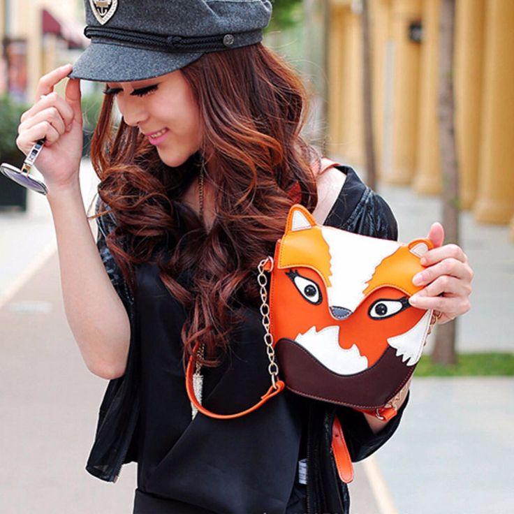 $5.85 (Buy here: https://alitems.com/g/1e8d114494ebda23ff8b16525dc3e8/?i=5&ulp=https%3A%2F%2Fwww.aliexpress.com%2Fitem%2F2015-New-Fashion-Women-Leather-Handbags-Cartoon-Bag-Owl-Fox-Shoulder-Bags-Women-Messenger-Bags-Wallte%2F32421655526.html ) New Fashion Women Leather Handbags Cartoon Bag Owl Fox Shoulder Bags Messenger Bags Cute 2 Colors HB88 for just $5.85