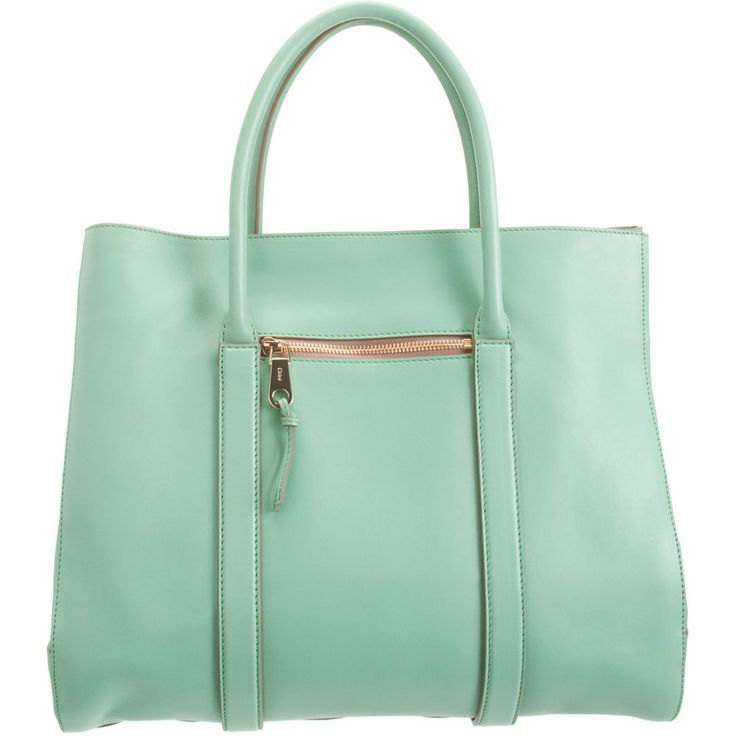 Oh why do you have to be $2695.00?  I love you so Chloe mint tote!
