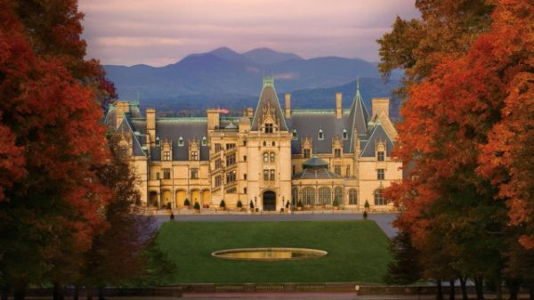 "The sprawling Biltmore Estate, located in the majestic Smoky Mountains of Asheville, North Carolina, boasts an incredible 250 rooms, each grander and more ornate than the next. George Washington Vanderbilt II began building the enormous estate in 1889 after visiting and falling in love with the Asheville area while on frequent doctor-recommended trips with his mother, since the North Carolina mountains and climate were known for their restorative powers. ""There's no shortage of eye candy,""…"