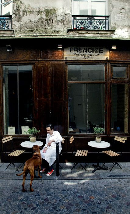 "2nd arrondissement""At Frenchie, down the narrow rue du Nil, not far from Les Halles, chef Gregory Marchand serves inventive dishes inspired by organic ingredients."" —""The French Culinary Scene Today""Restaurant Info: Frenchie"