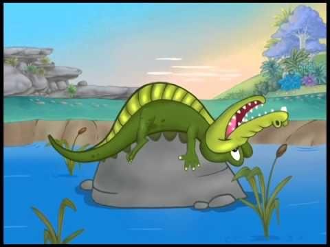 O Grilo Feliz e seus amigos - Jacaré tá na lagoa