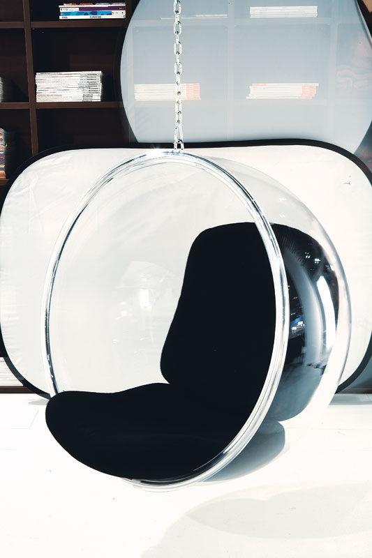 Bubble Chair, de Eero Aarnio.