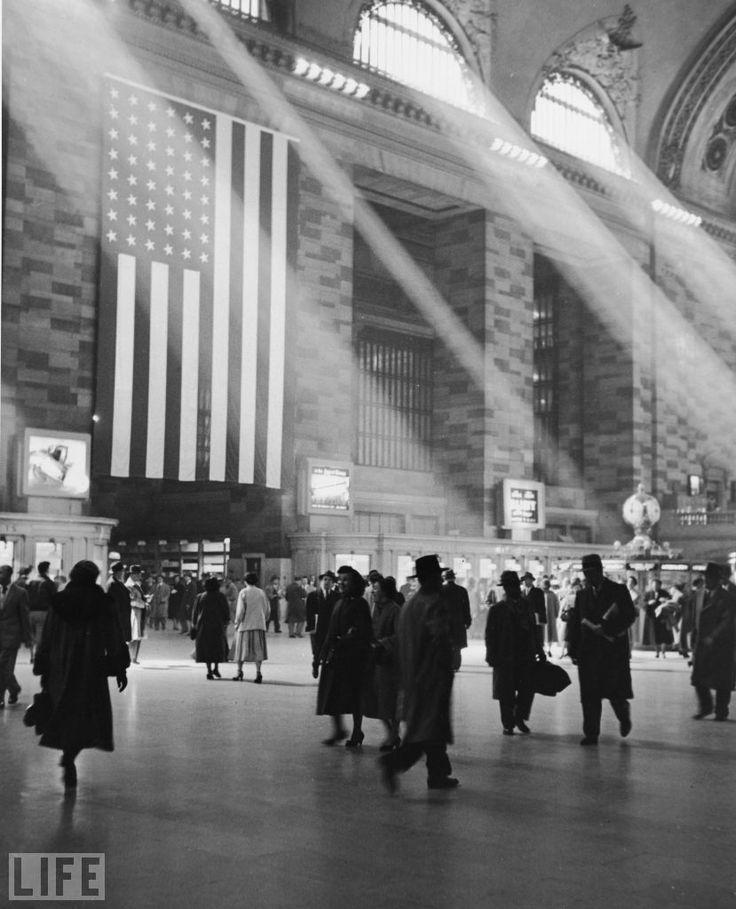 Grand Central Terminal, 1945