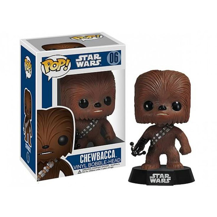 Star Wars POP Chewbacca Bobble Head Vinyl Figure