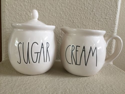 RAE-DUNN-SUGAR-BOWL-CREAM-PITCHER-SET