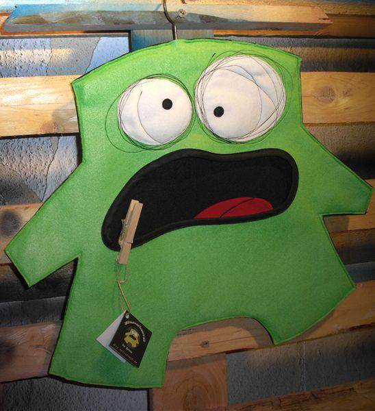Wäscheklammernbeutel - Klammerbeutel - Mr. Green - ein Designerstück von arthurkopf bei DaWanda