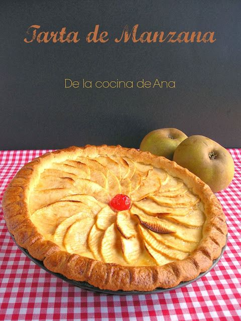 Tarta de Manzana, (Receta de mi Madre)