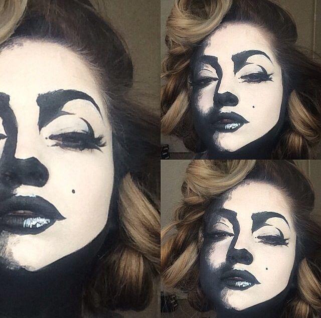 Marilyn Monroe Kostüm selber machen | Kostüm Idee zu Karneval, Halloween & Fasching