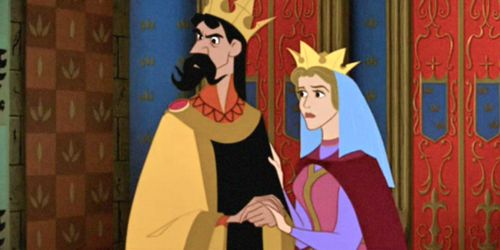 "Aurora's Parents, The King And Queen From ""Sleeping Beauty"