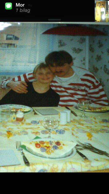 My father and me