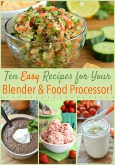 Do you love your blender or food processor? I sure do. Read on for some blender and food processor recipes you'll want to try plus a chance to win your very own Ninja kitchen system!
