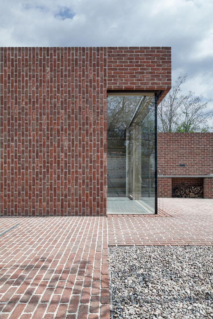 Brick Garden with Brick House | Leibal