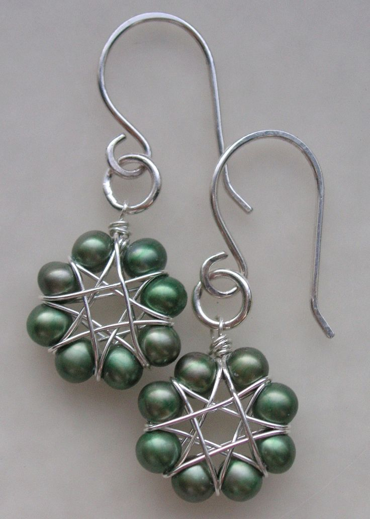 beads and wire wrapping