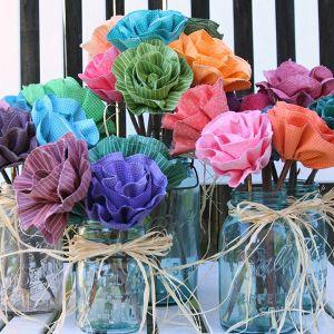 Radiant Ruffled Blossom Bouquet