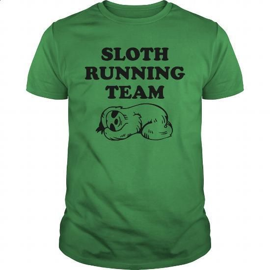 SLOTH RUNNING TEAM - #linen shirts #shirt designs. CHECK PRICE => https://www.sunfrog.com/Funny/SLOTH-RUNNING-TEAM-Green-Guys.html?id=60505