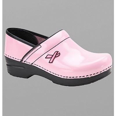 "Dansko ""Professional"" BCA Ribbon Edition Patent Leather Clog: Dansko Profess, Nur Shoes, Breast Cancer, Comfy Shoes, Thinking Pink, Cancer Awareness, Pink Ribbons, Nursing Shoes, Nur Stuff"