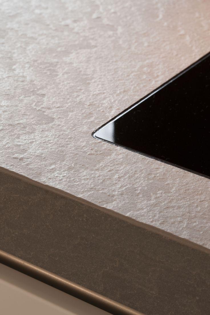 46 best images about dekton worktops on pinterest surface design countertops and galleries - Witte quartz werkblad ...