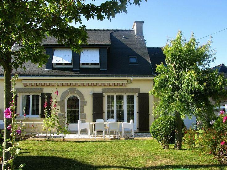 Damgan, Maison de vacances avec 4 chambres pour 9 personnes. Réservez la location 1286483 avec Abritel. Morbihan villa 5/9 pers. 4 ch. plage à 60m, label 3 étoiles, wifi gratuit